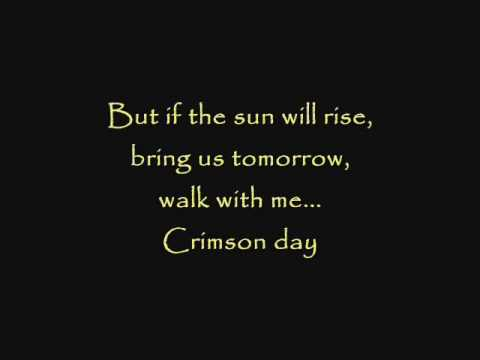 Avenged Sevenfold - Crimson Day with lyrics