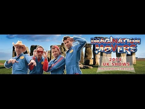 imagination movers live in london 2014