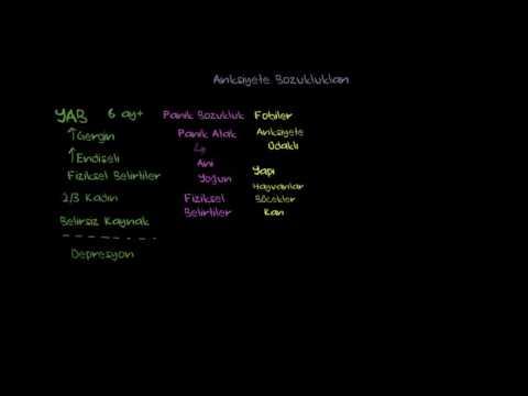 Anksiyete Bozukluğu ve Obsesif Kompulsif Bozukluk (Psikoloji / Davranış)