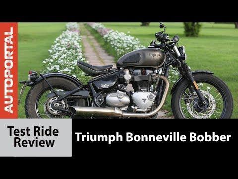 Triumph Bonneville Bobber - Test Ride Review - Autoportal