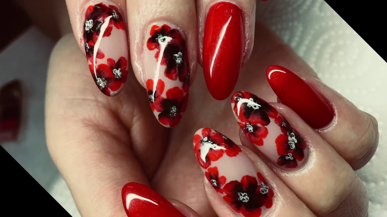 Chinese Nail Art Designs How To Create Stunning One Stroke Acrylic