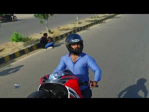 Khawar Burney Stunt Biker