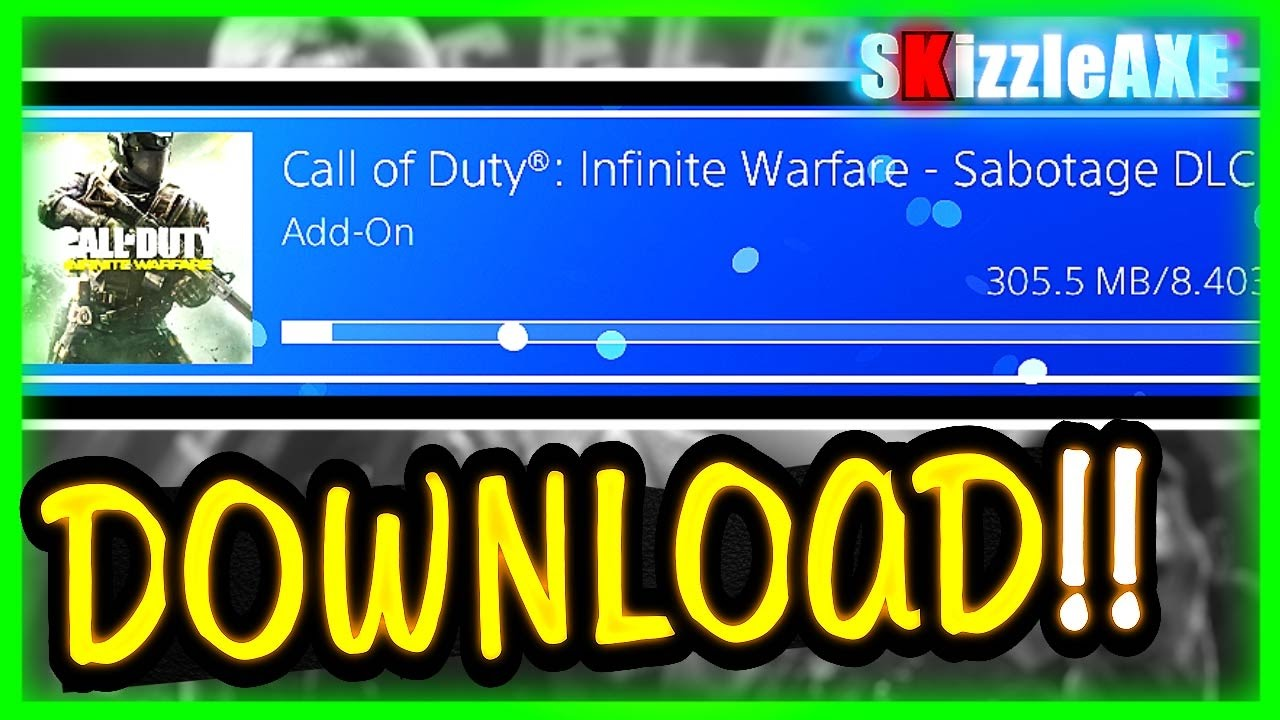 HOW TO DOWNLOAD DLC 1 FOR Infinite Warfare ~ Also How To Download DLC 3  Tutorial in Description