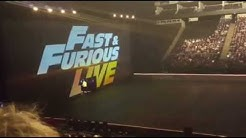 First Ever Fast & Furious Live Show in London O2 Arena With Vin Diesel