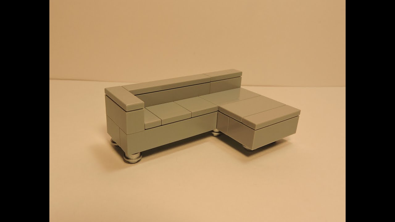 Kautsch Sofa Lego Modern Couch Tutorial