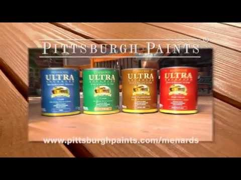 Pittsburgh Paints And Stains Ultra Advanced Stain Sealant In One