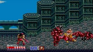 Sega Megadrive / Genesis - Golden Axe 2 Game