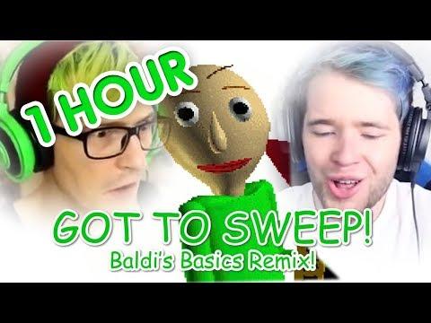 "(1 HOUR) ""GOT TO SWEEP!"" (DanTDM, BijuuMike, Baldi's Basics Remix)   Song by Endigo"