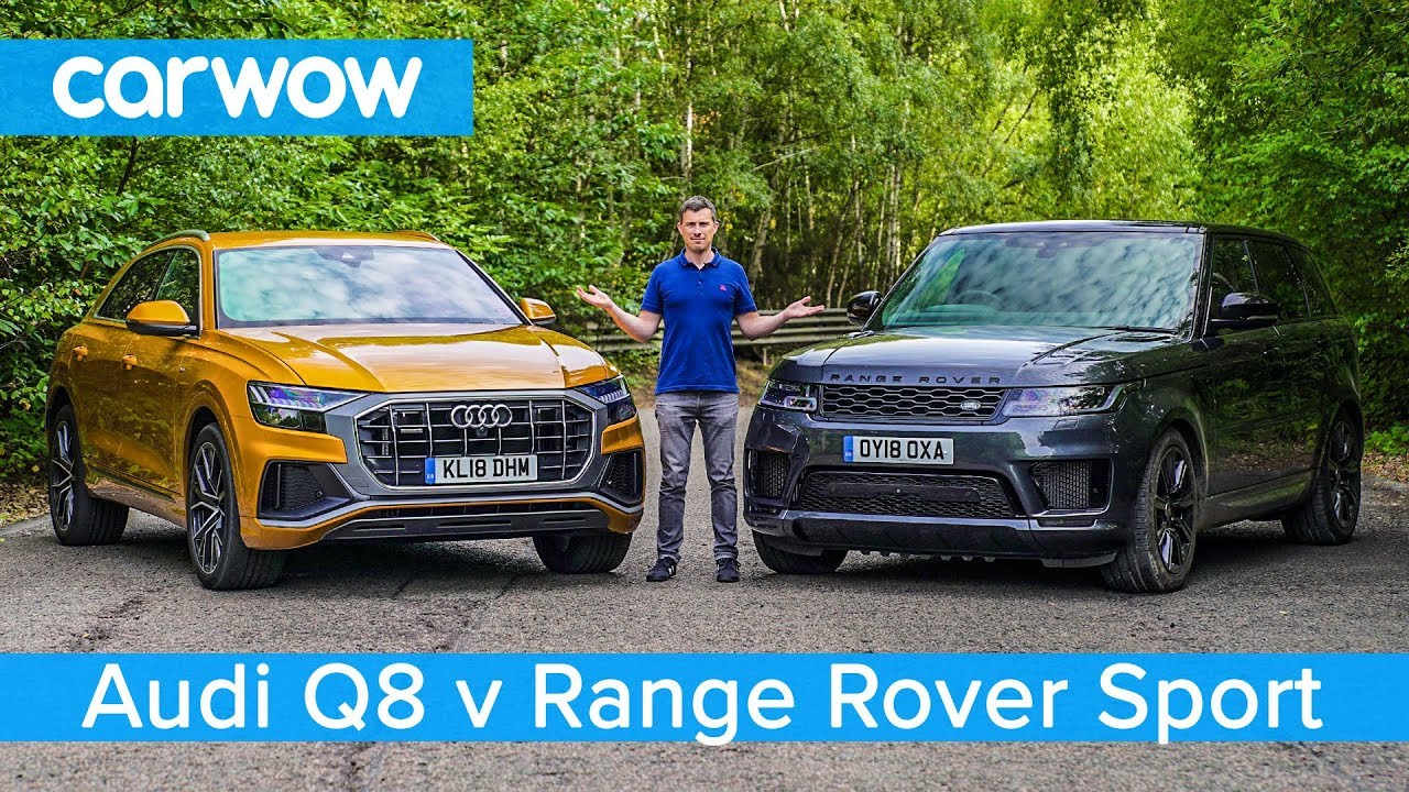 Best Ranges 2020 Audi Q8 vs Range Rover Sport 2020   see which SUV is the best