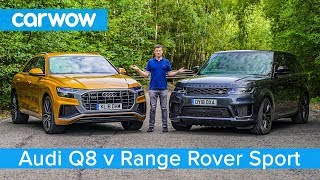 Audi Q8 vs Range Rover Sport 2020 - see which SUV is the best | carwow