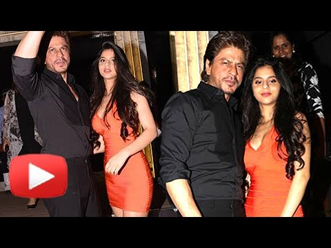 Thumbnail: Shah Rukh Khan With Daughter Suhana At Gauri Khan's Newly Designed Restaurant ARTH
