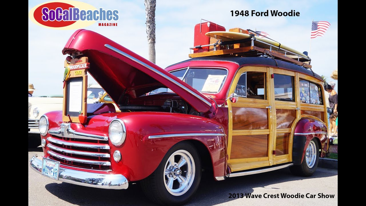1948 Ford Woody Classic Car - YouTube