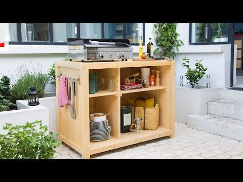 Vote no on comment construire un ilot de cuisine diy for Fabriquer cuisine exterieure