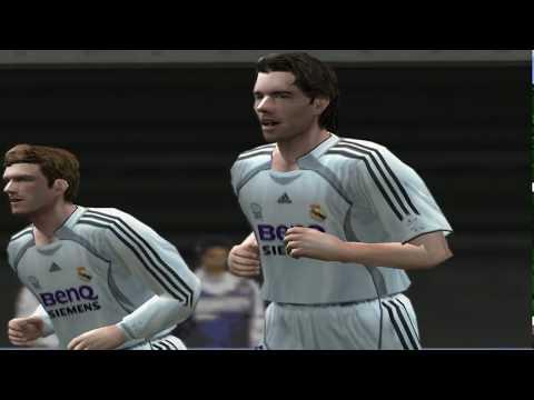 Pro Evolution Soccer 6 - 2006 - Real Madrid C.F. VS FC Barcelona (PC)