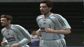 Pro evolution soccer 2006 - real madrid c.f. vs fc barcelona (pc) 6 playlist evolutio...