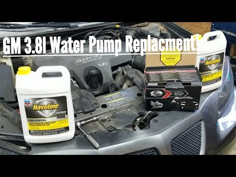 HOW TO: GM 3.8 WATER PUMP REPLACEMENT – 2005 Grand Prix GT