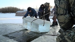 Подготовка купелей для Крещенских купаний