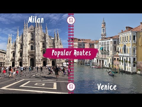 eurail train route from milan to venice youtube. Black Bedroom Furniture Sets. Home Design Ideas