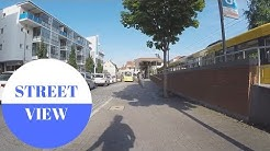 STREET VIEW: Fellbach bei Stuttgart in GERMANY