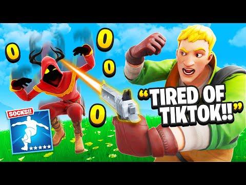 """I Trolled With New """"SOCKS"""" TikTok Emote! (RAGE)"""