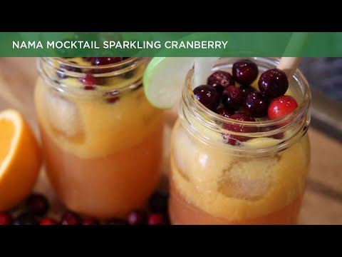 Nama Mocktail Sparkling Cranberry