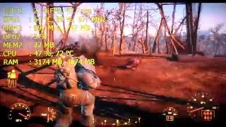 Medion Akoya GT 630M - i3 2350M Gaming test 4 Fallout 4