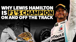 Why Lewis Hamilton is F1's champion on and off the track | Crash.net