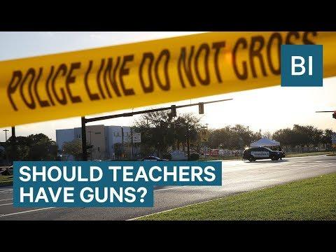 Will Arming Teachers With Guns Help Stop School Shootings?