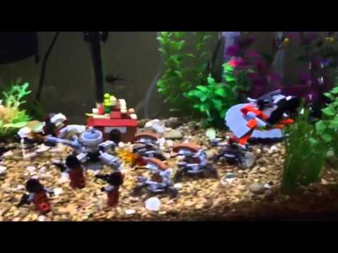 Coolest Fish Tank Ever Star Wars Theme Youtube