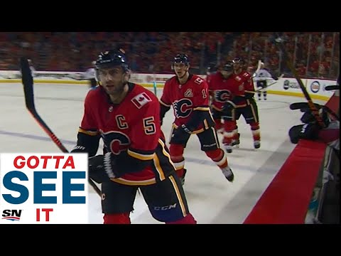 GOTTA SEE IT: Flames Torch Avalanche For 5-Straight Goals In 3rd