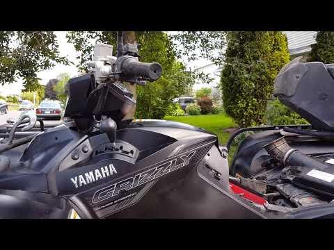2016 grizzly kodiak 700 airbox conversion AIr Filter MOD