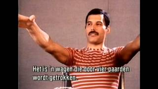 Queen Interview in Leiden 1984
