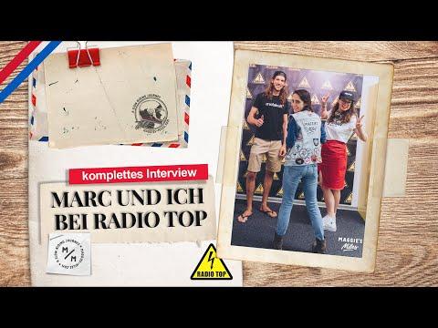 Alles über mein Abenteuer Maggie's Miles   Marc und ich bei Radio Top