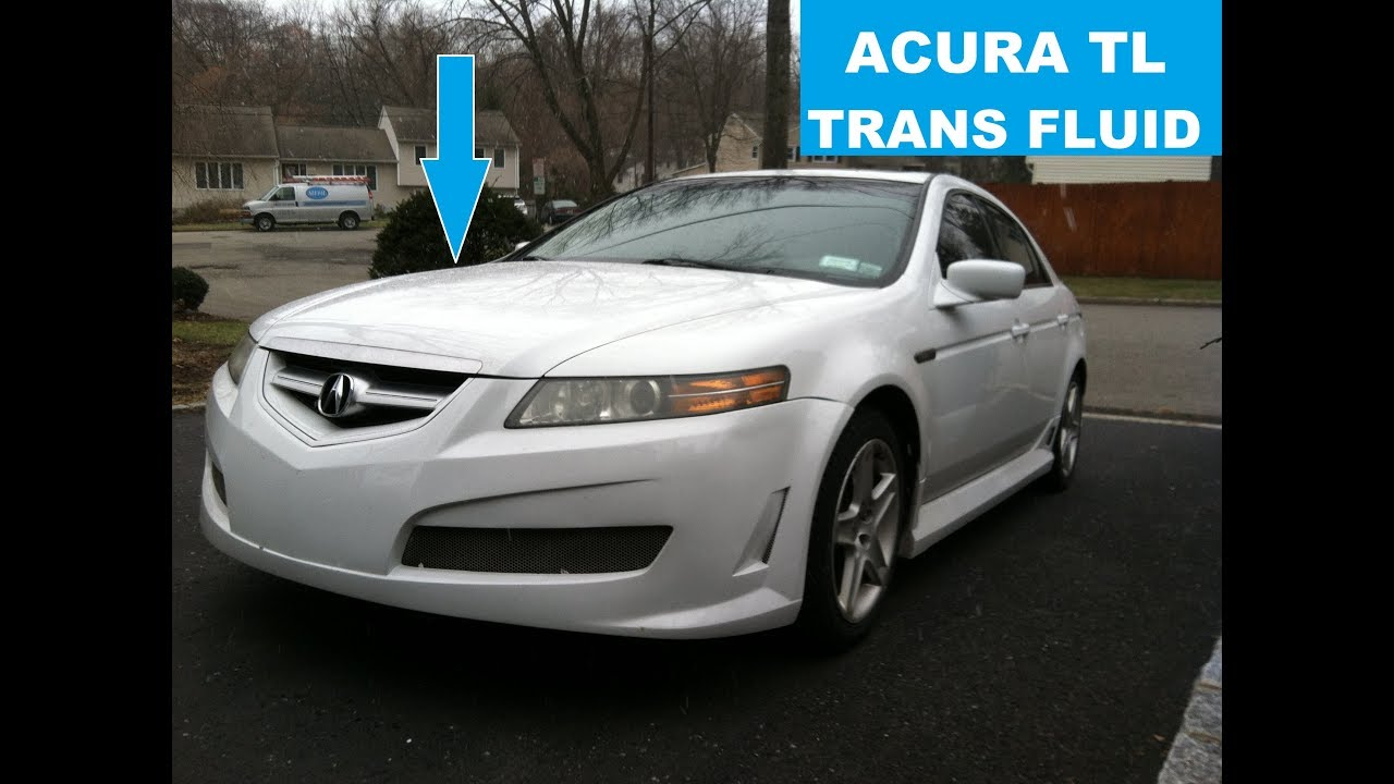 Acura TL Automatic Transmission Fluid Change With Basic Hand Tools - Acura tl transmission fluid