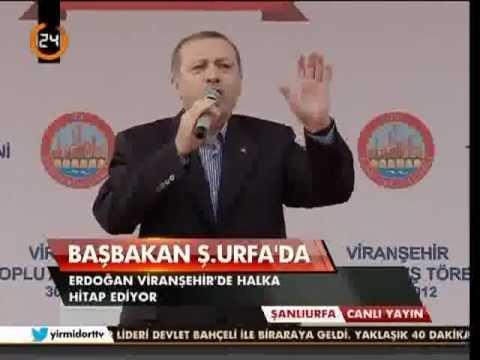 Başbakan Erdoğan. Viranşehir Toplu Açılış Töreni Konuşması.