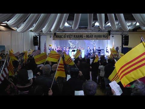 Video toàn bộ ngày Nhạc Sĩ Việt Khang được hàng ngàn người Việt chào đón nồng nhiệt tại San Jose