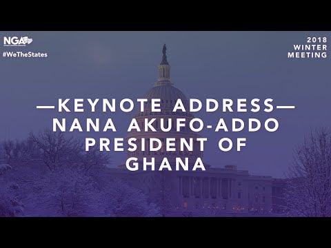 2018 Winter Meeting — Keynote Address with Nana Akufo-Addo, President of Ghana