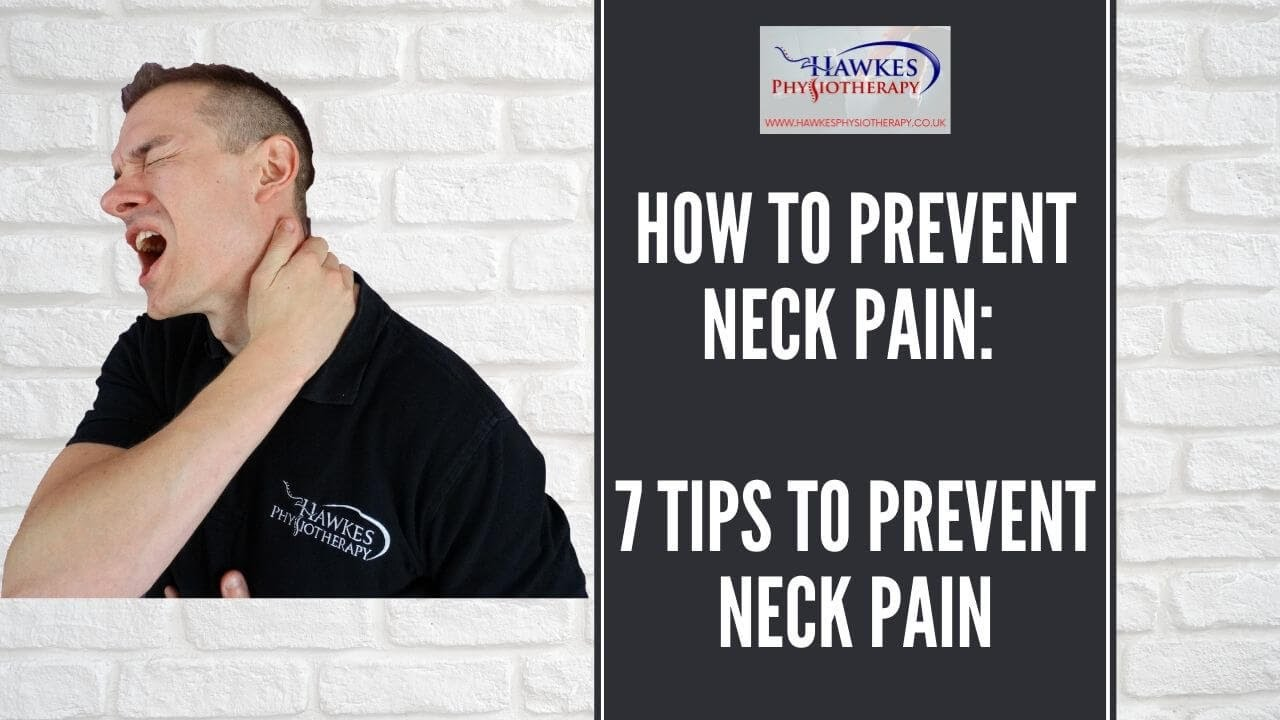 How to Prevent Neck Pain