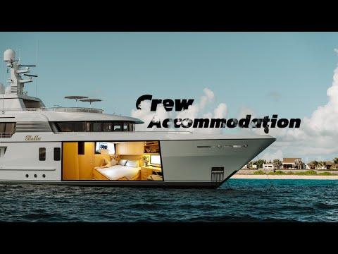 Inside Yacht Bella's Crew Accommodation   09 Crew