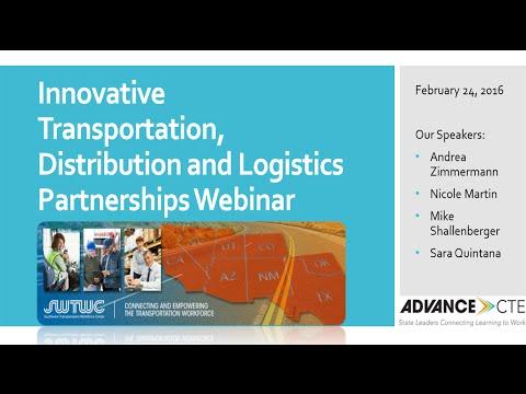 Innovative Transportation, Distribution and Logistics Partnerships