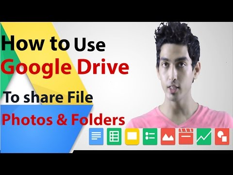 How To Use Google Drive To Share Files Os And Folders