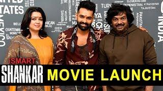 Ismart Shankar Movie Launch | Ram | Puri Jagannadh | Charmi Kaur