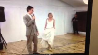 Wedding dance boogie with me baby