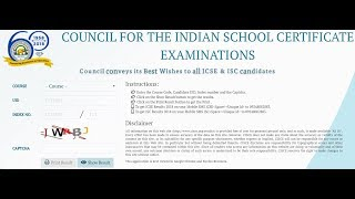 How To Check ICSE 10th & ISC 12th Result 2018