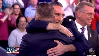 Air Force Heroes Reunited In Memorial Day Weekend Surprise - The View