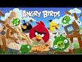 Птички Энгри Бердс Злые Птички Мультик прохождение игра про птичек Энгри Бердс видео для детей mp3