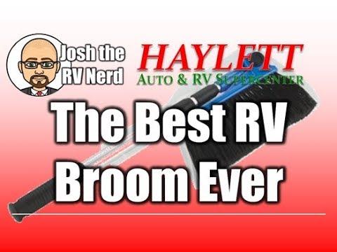 The Best RV Broom I've Ever Seen with Josh the RV Nerd