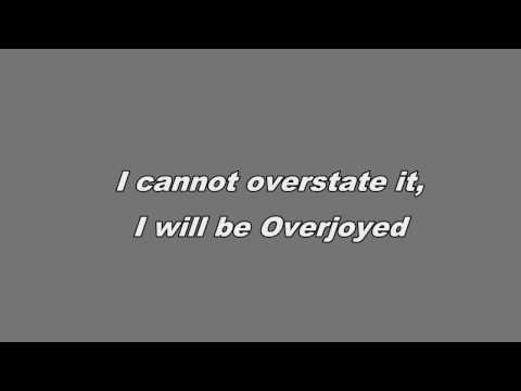 Overjoyed - Matchbox 20 Lyric Video