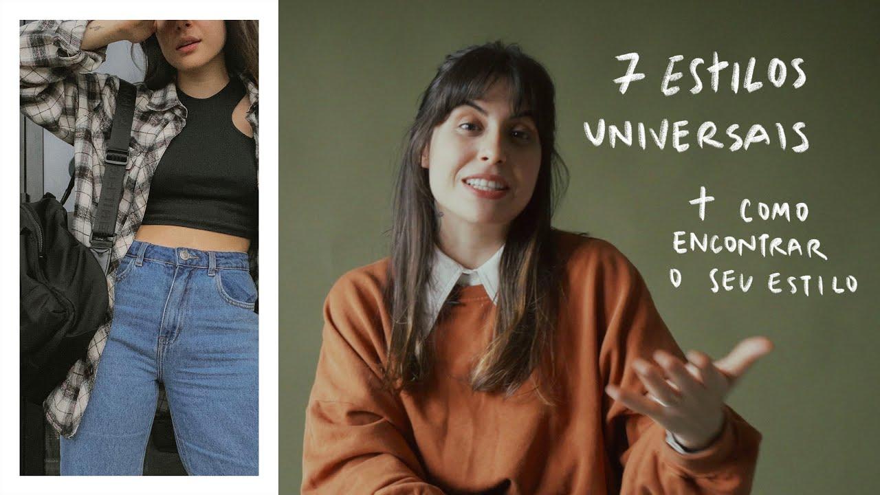 Download os 7 ESTILOS UNIVERSAIS + como ENCONTRAR o seu ESTILO | Thays Lessa