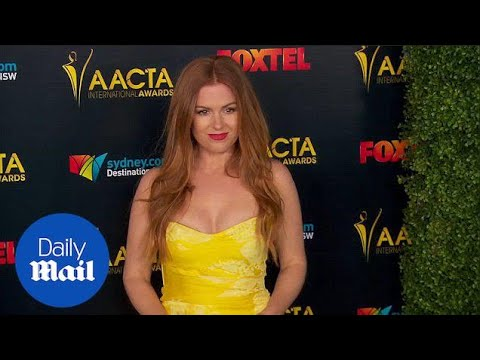 Isla Fisher On The Red Carpet At The International AACTA Awards - Daily Mail